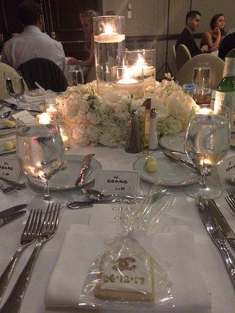 The Adolphus: wedding reception