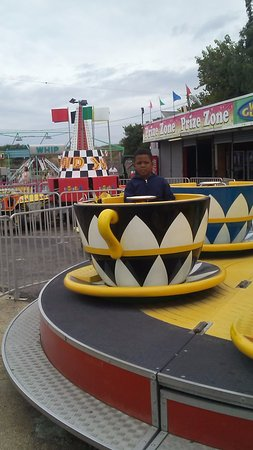 Keansburg, Nueva Jersey: The teacup