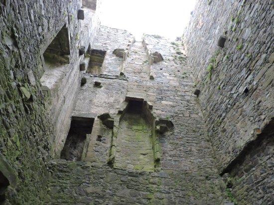 Harlech, UK: looking up as you enter.