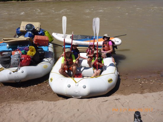 Mild to Wild Rafting and Jeep Trail Tours : Ready to launch again after a yummy lunch.