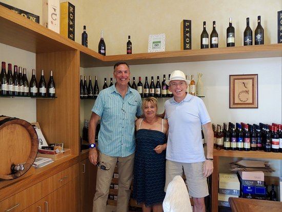 Tordandrea, İtalya: At the Fattoria Colsanto winery and agriturismo