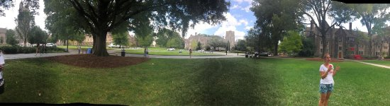 Beautiful campus - great day trip