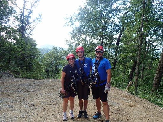Navitat Canopy Adventures - Asheville Zipline : A motely crew