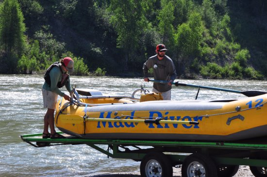 Mad River Boat Trips : Snake River - Pick Up Location