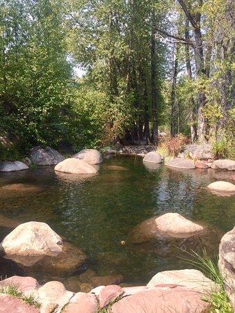 Rio Grande Trail: reflecting pond