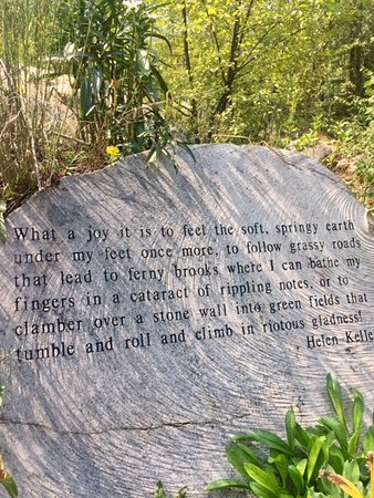 Rio Grande Trail: Quote from Helen Keller