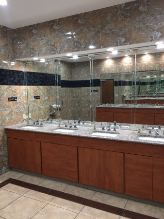 Balch Springs, TX: The marble men's room!