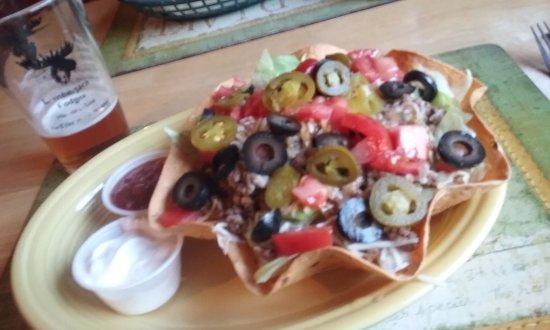 Harmony, ME: Great Taco Salad