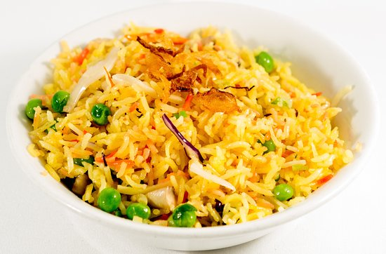 South Petherton, UK: Veg Rice