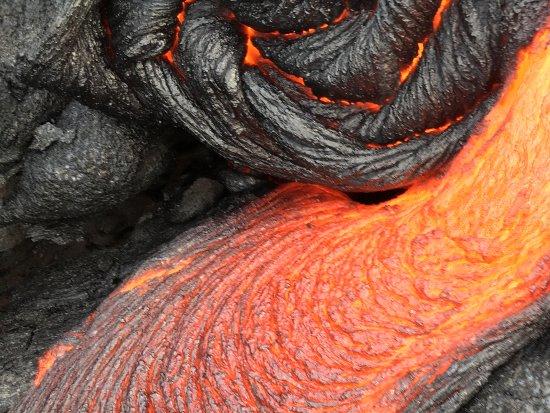 Pahoa, Hawái: Lava at Kalapana