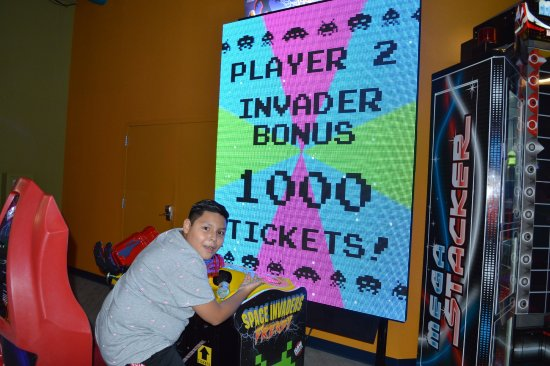 Pocono Summit, PA: He loved this game won 1000 tickets on his 2nd try.