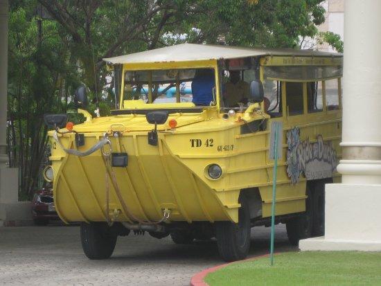 Tamuning, Mariany: 水陸両用車