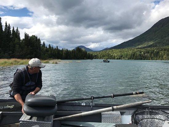 Five dogs fishing cooper landing ak anmeldelser for Cooper landing fishing