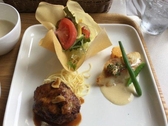 Minokamo, Japonia: お肉系と魚系を選択できたと思います。