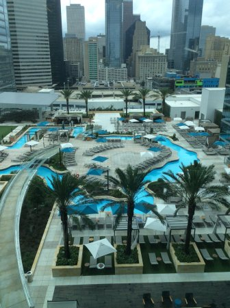 best hotel pool picture of marriott marquis houston houston tripadvisor
