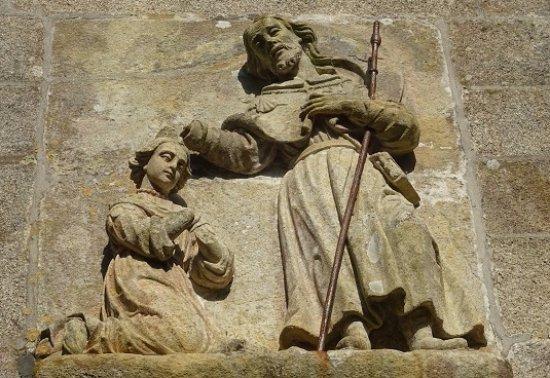 Padron, Spagna: スペインで初めて宣教をしたヤコブ