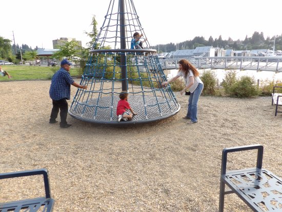 Percival Landing: spinning climbers