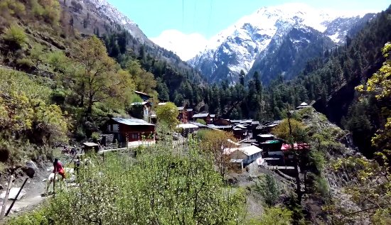 Bharmour, Индия: Kugti Village in Kugti Wildlife Sanctuary