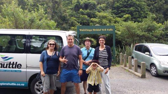 Raglan, Neuseeland: Bridal Veil Falls Entrance