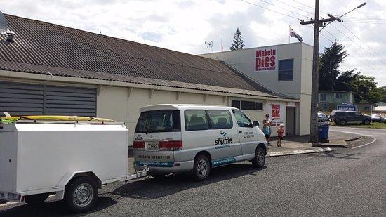 Raglan, Neuseeland: Grabbing a Pie
