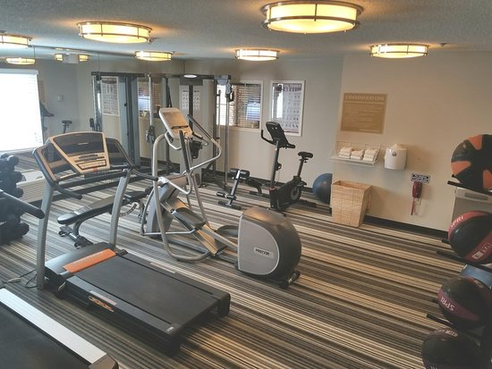 Candlewood Suites Dallas-By the Galleria: Candlewood Gym open 24hrs