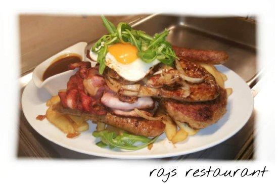 Narromine, Australien: Raj's restaurant