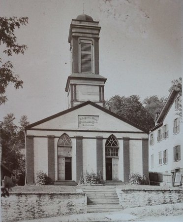 Aurora, IN: Original picture of church/museum