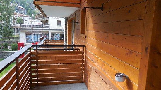 Hotel Aristella swissflair: Balcony