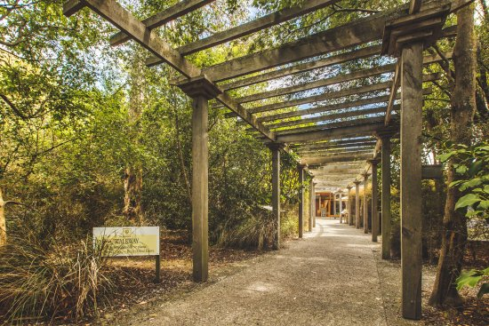 Blenheim, Nuova Zelanda: Hunter's Walkway Entrance