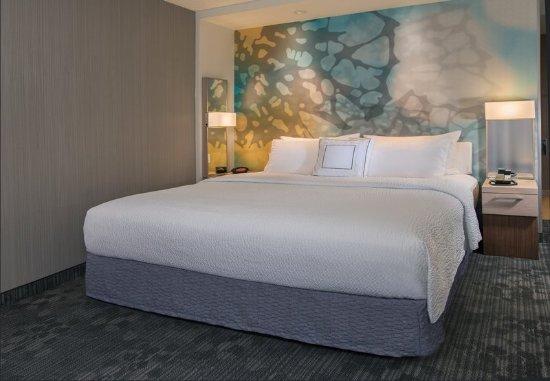 Pullman, WA: King Guest Room Sleeping Area