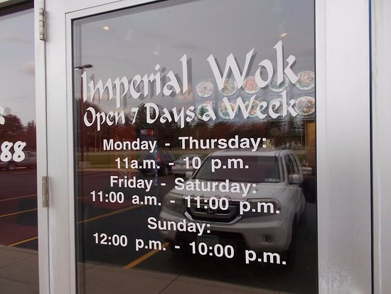 Car Dealerships In Rochester Mn >> Imperial Wok 14th St Sw Rochester Mn Picture Of