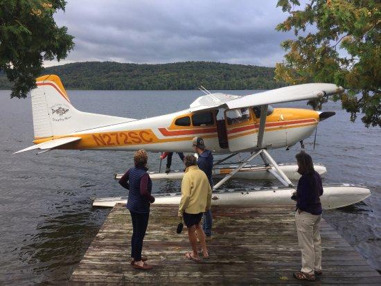 Acadian Seaplanes: Dockside service