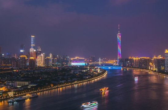 First Class Pearl River Night Cruise in Guangzhou with Private...