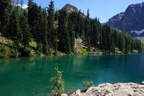 Blue Lake trail : Blue Lake