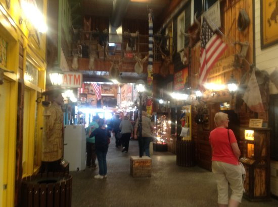 Inside Wall drug store