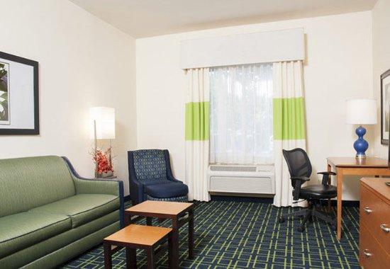 Okemos, MI: King Suite – Living Area