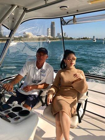 Gold Coast, Australia: Soo much fun on 'Life's Good' 😊