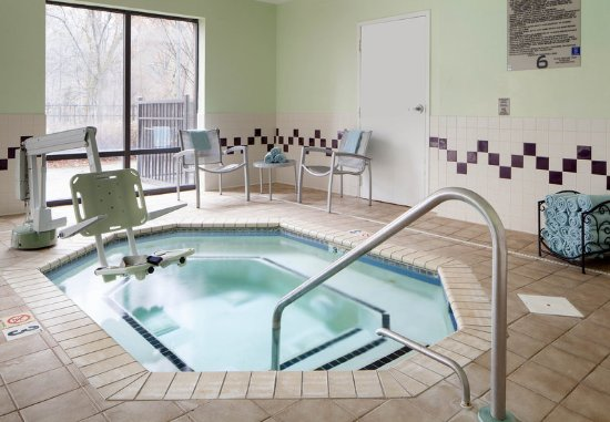 Indoor whirlpool  Indoor Whirlpool - Picture of SpringHill Suites Charlotte ...