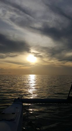 Anna Maria Sailing Adventures: sunset at the gulf