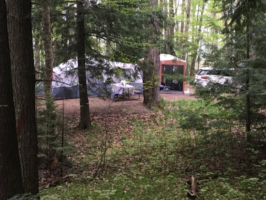 Boulder Junction, WI: Great campsites for large families