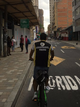 Bogotravel Tours: Our guide Fernando!