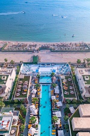 Five Palm Jumeirah Dubai Social Pool And Beach View