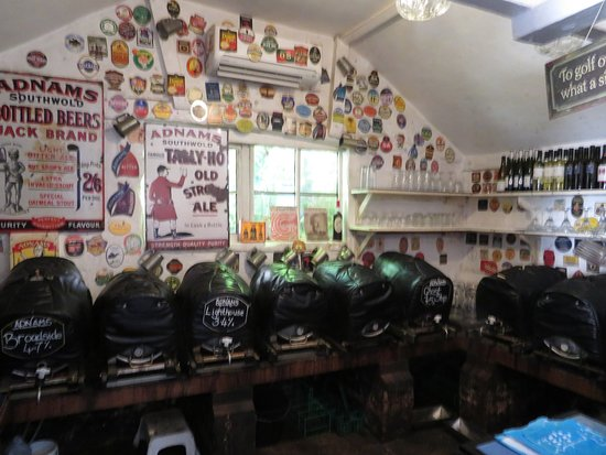 Laxfield, UK: The Taproom