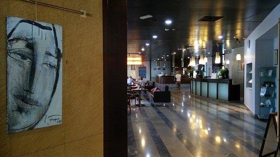 Smarjeske Toplice, Slovenia: sala ingresso hotel