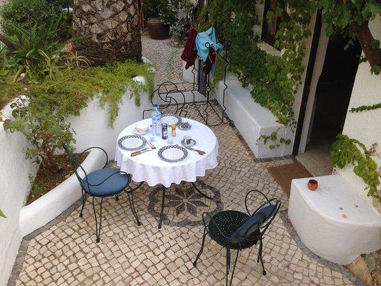 Uma Casa a Beira Sol: L'area esterna di pertinenza dell'unità abitativa
