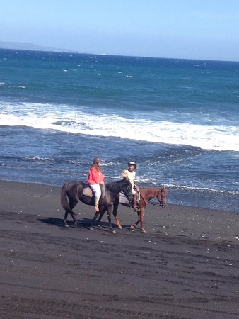 Hore riding at saba bay keramas beach gianyar