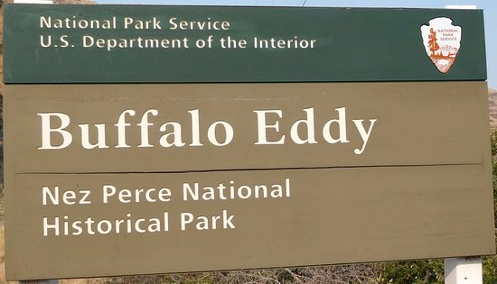 Buffalo Eddy Nez Perce National Historical Park. 18 miles south of Asotin on Snake River Rd.