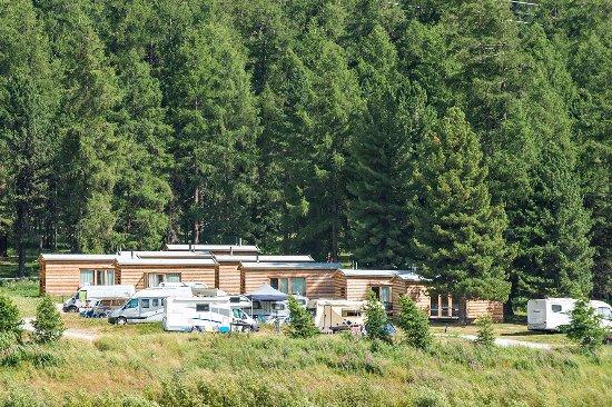 Samedan, İsviçre: Camping Gravatscha