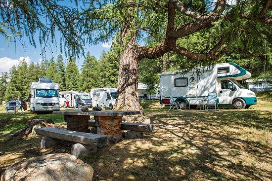 Samedan, Szwajcaria: Camping Gravatscha
