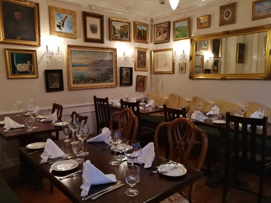 The well decorated dining room Picture of The Lobsterhouse